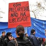 """Image for the Tweet beginning: Sindicatos denunciam """"autêntico carrossel da"""