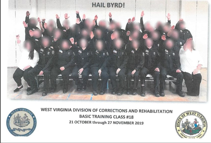 West Virginia Government Employees Suspended After Giving Nazi Salute