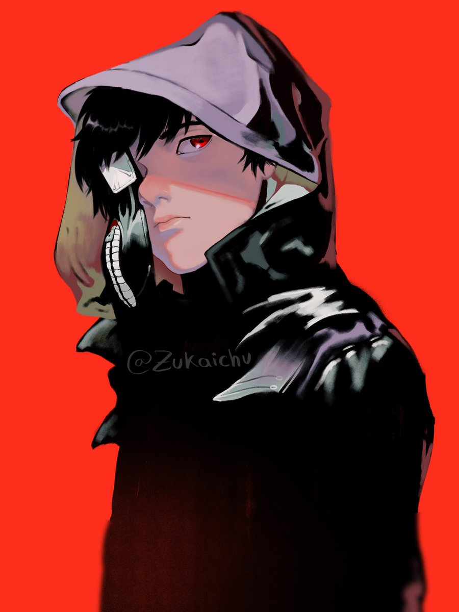 So I was feeling nostalgic today and I did a redraw from one of my favorite artworks from Tokyo Ghoul, hope you like it!!  #ArtistOnTwitter #tokyoghoul #kanekiken pic.twitter.com/FAM5WsQanN