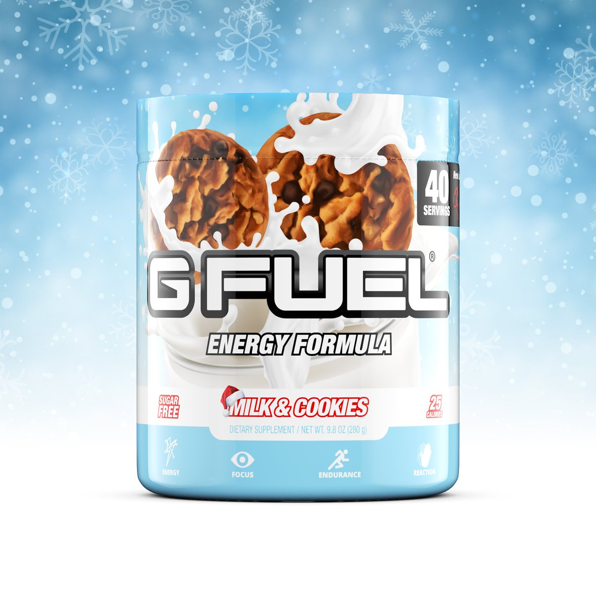 Bribing Santa with this. We better get some fire gifts.  🍪🥛🎅🏻👀 https://t.co/R9SO2GQthU