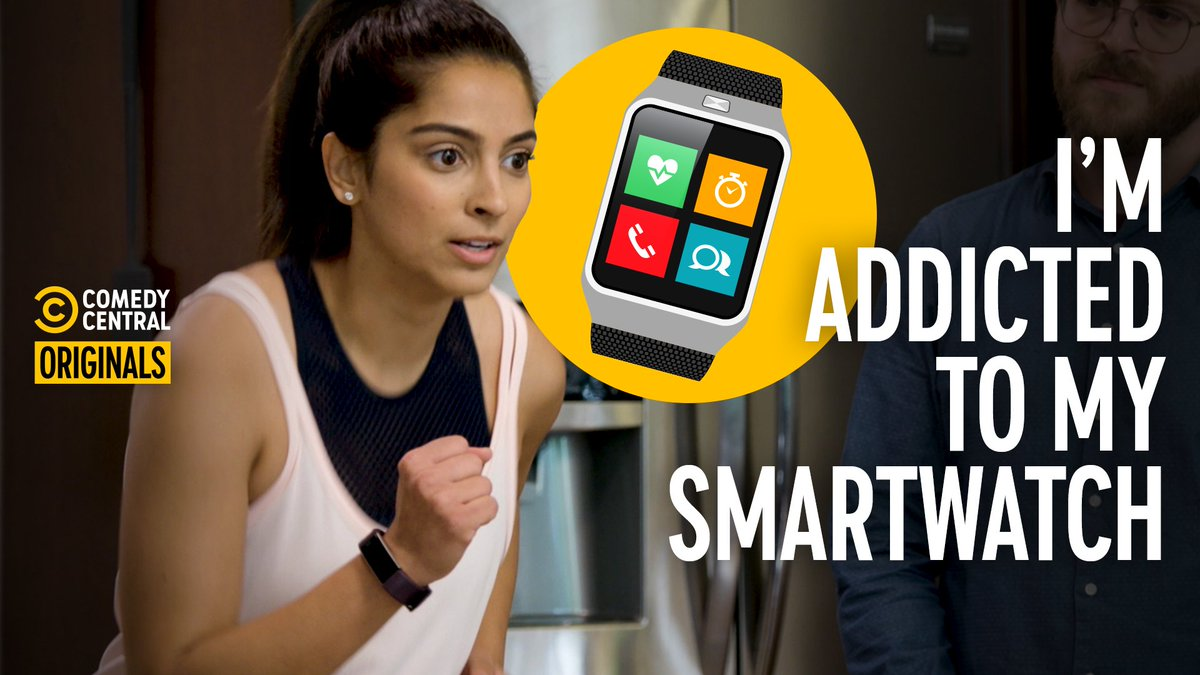 When a smart watch becomes a stupid problem, its time for an intervention. @simmi #AddictionBusters