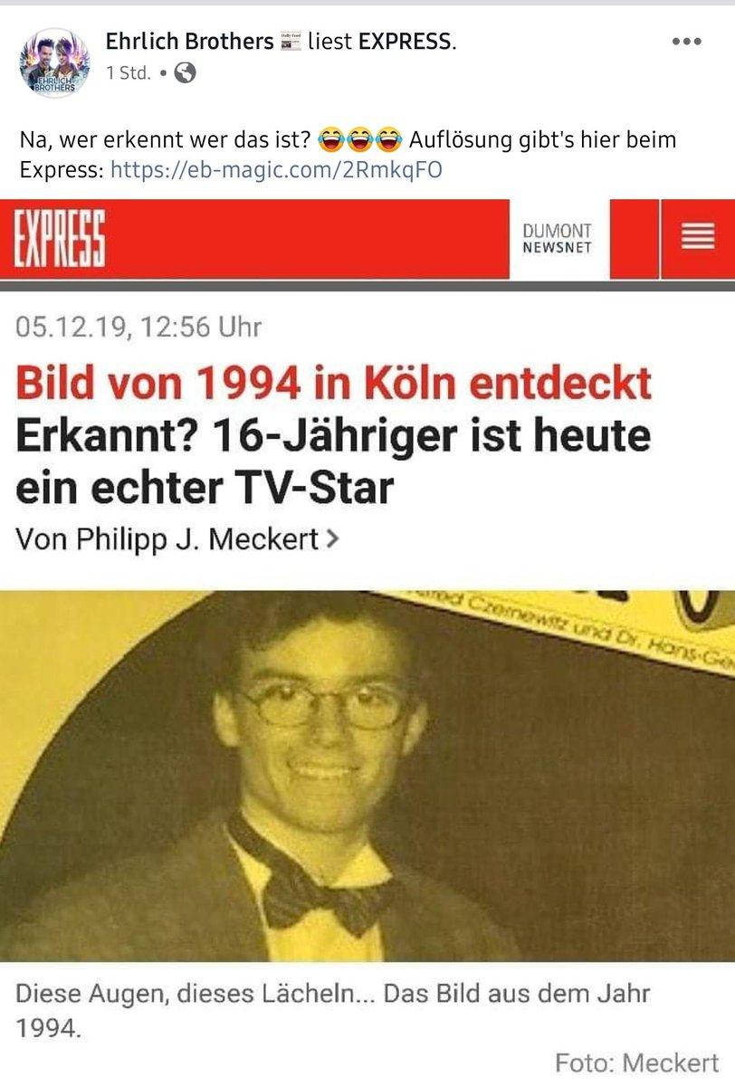 Andreas Ehrlich mit 16 Jahren!  #ehrlichbrothers  https://t.co/snIGJF5xDp https://t.co/Y8Yx1GyFse