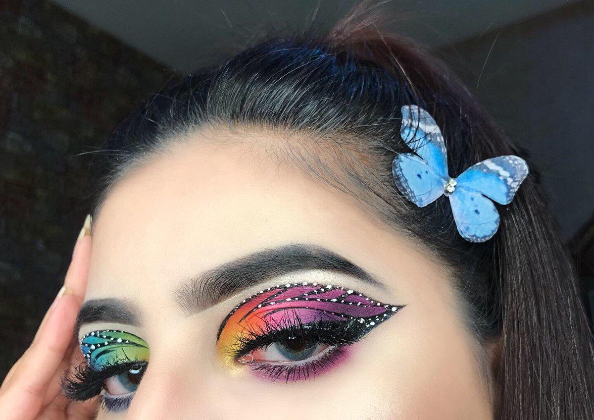 Used the one & only @MorpheBrushes #morphexjamescharles palette for this butterfly look! @jamescharles  @morphebrushes brushes used @morphebrushes 8c cool pro blush palette  @morphebrushes continues setting mist. #morphebabe #morphegirl pic.twitter.com/KNMsxANpoH