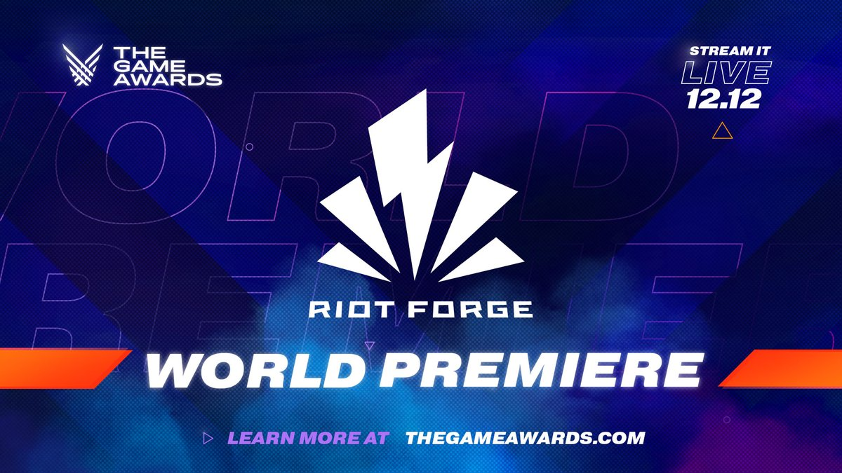 Were excited to welcome @riotgames to #TheGameAwards for the first time! Dont miss the first @riotforge developer announce their @leagueoflegends game live next Thursday night! Streaming globally around the world.