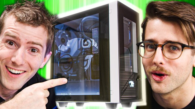 .@LinusTech and Riley built the cleanest $3,000 PC and we're giving it away! Come watch the new video and enter.Watch ► https://www.youtube.com/watch?v=qobsfVJmoHI…Enter ► http://newegg.io/linus