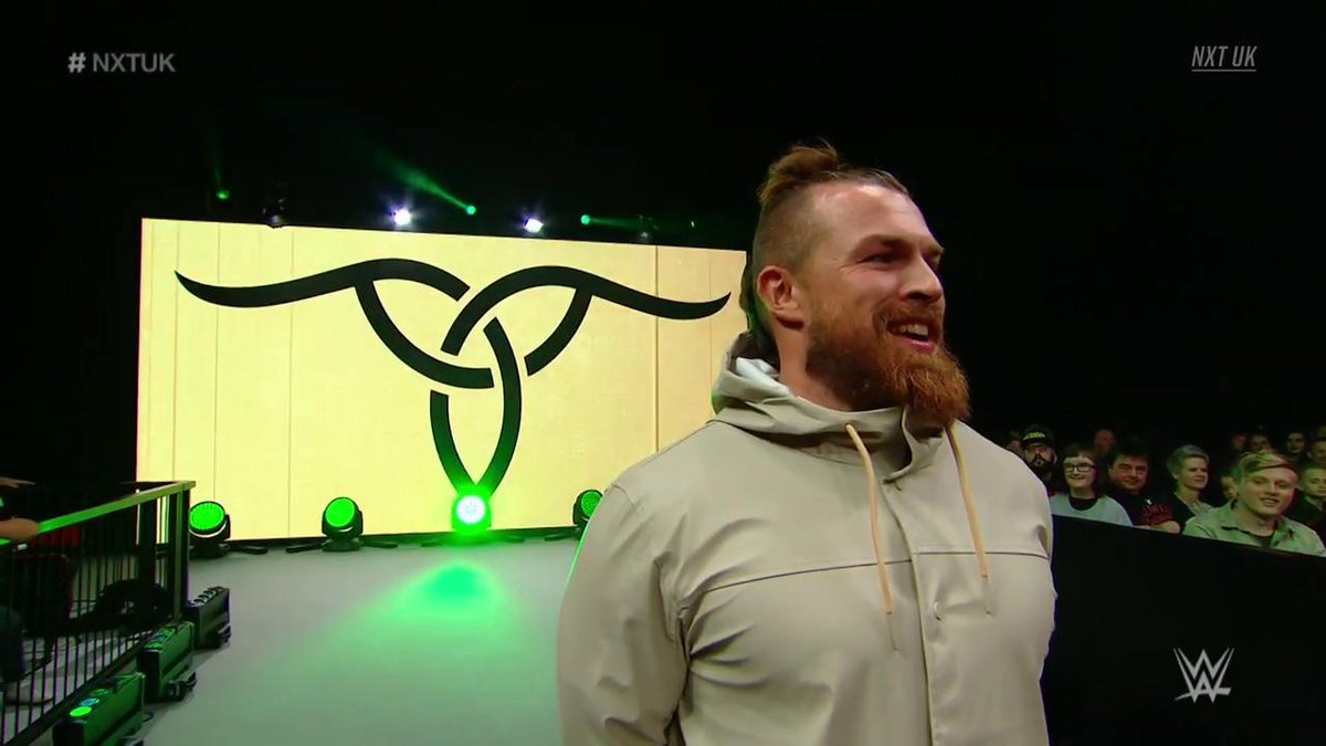 We say what you did there, @Joe_Coffey. 😉... but does @WalterAUT?#NXTUK #GALLUS