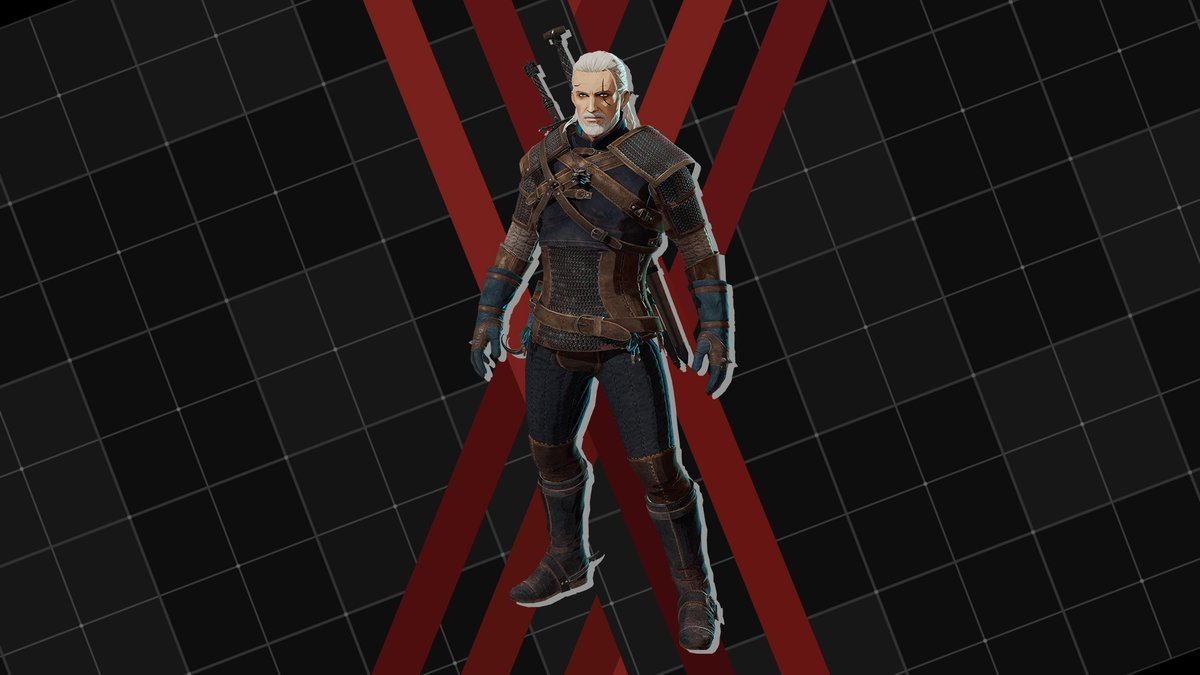 Geralt of Rivia and the Child of Destiny, Ciri are taking on the Immortals! Download the free DLC pack for #DaemonXMachina on #NintendoSwitch and lead these heroes into heavy metal mayhem! <br>http://pic.twitter.com/WbPKdUaicG