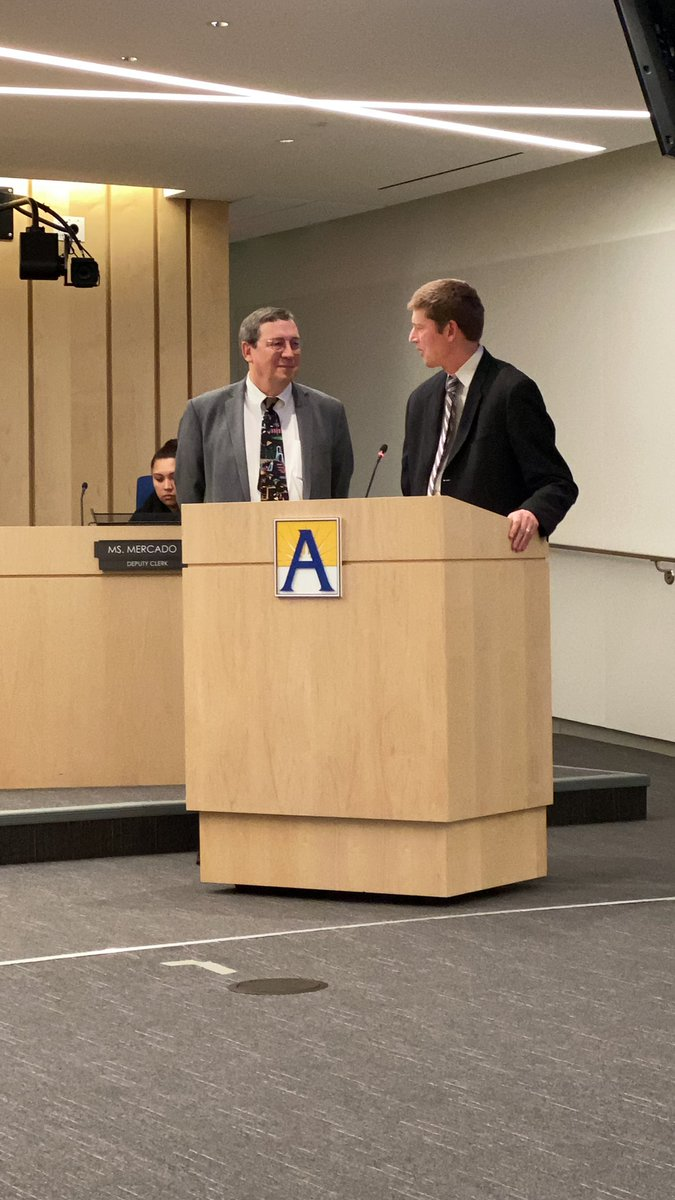 Congratulations <a target='_blank' href='http://twitter.com/ReidForSchools'>@ReidForSchools</a> for your swearing in on your second term to the Arlington County School Board. <a target='_blank' href='https://t.co/AiuUchAIte'>https://t.co/AiuUchAIte</a>