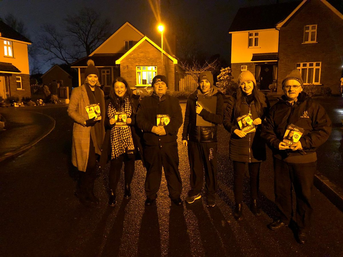 I am currently soaked from head to toe but with the election of a generation one week away we are out on the doors in Trillick & Omagh reinforcing the importance that an anti- brexit candidate is returned for this remain constituency! #RejectBrexit #BegleyX<br>http://pic.twitter.com/GFnwovalRC