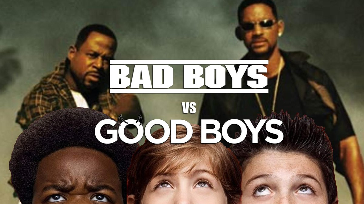 What happens when Bad Boys meet the chaos that is Good Boys.
