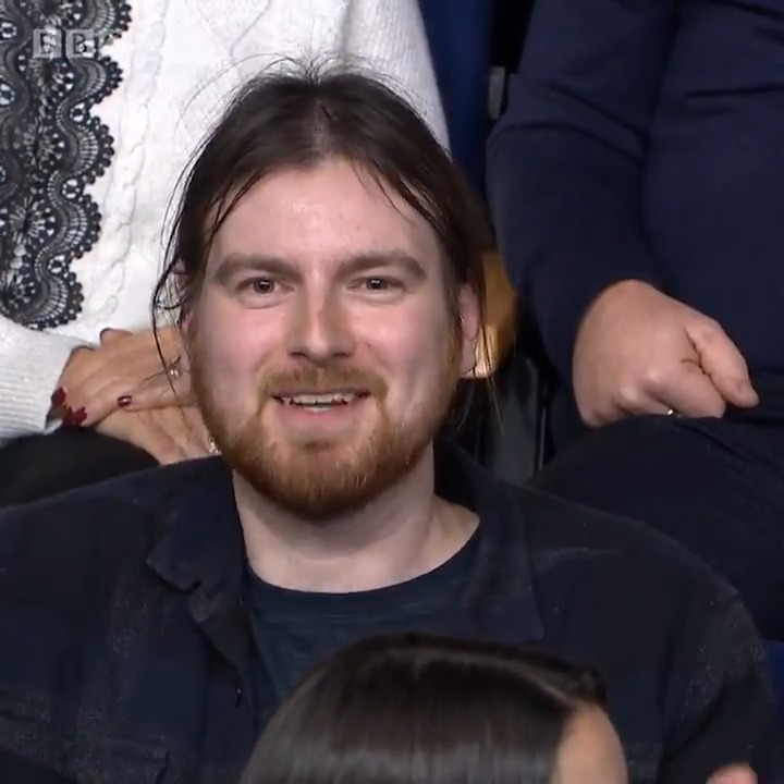 """""""The problems have got nothing to do with Brexit, the problems have been inflicted by the Tories"""" This audience member Brexit has been used as a """"scapegoat"""" for other issues in the UK. #bbcqt"""