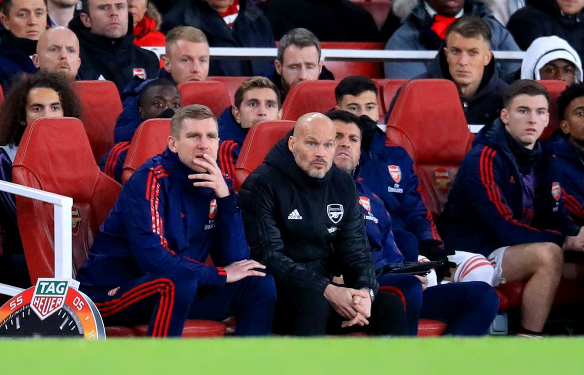 Arsenal have now failed to win their last nine matches across all competitions, their longest winless run in 42 years: DDDDLDLDL Freddie Ljungberg was born during that winless run back in 1977...