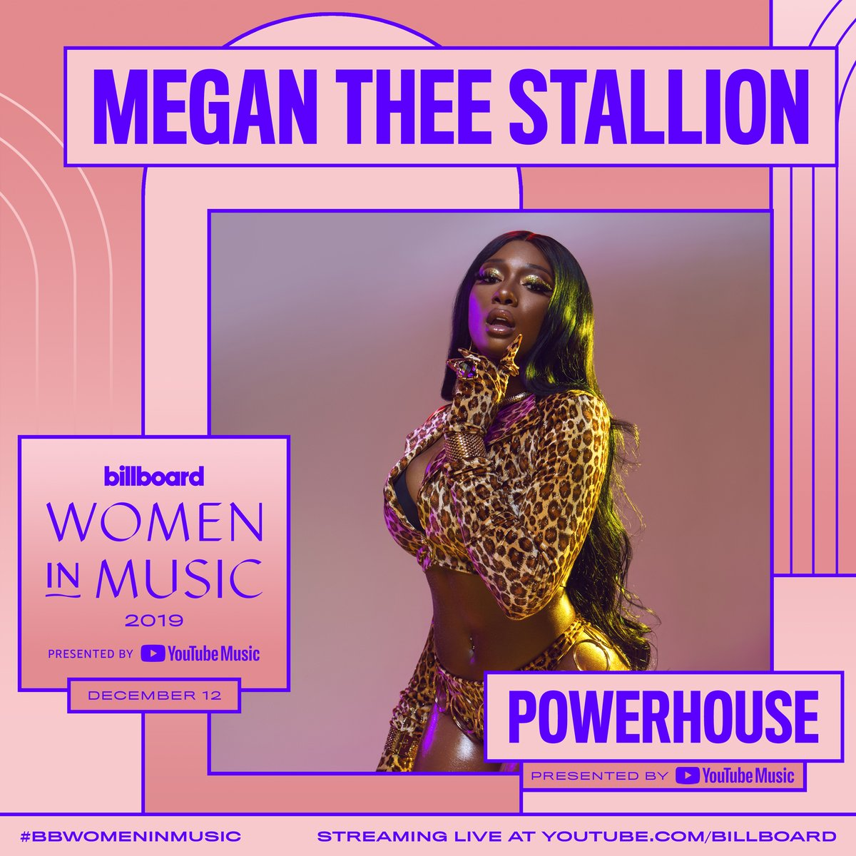 Meet this year's POWERHOUSE, Megan Thee Stallion! #ad Check out more of our partnership with @youtubemusic at this year's #BBWomenInMusic! https://blbrd.cm/XpNTmq