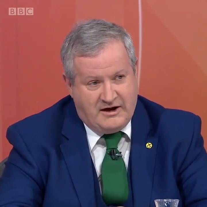 """""""There is real anger you can sense from the audience here tonight and I can understand that because we have lived with 10 years of austerity"""" @IBlackfordSNP says the money the Conservatives spent bailing out banks should have been invested in public services. #bbcqt"""