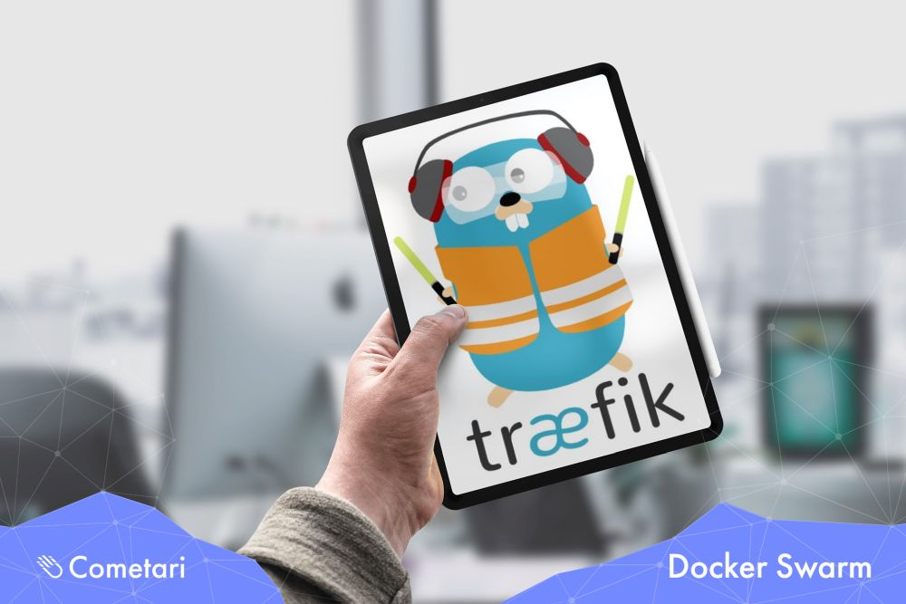 We created a fully-fledged environment to run microservices using Docker Swarm! All microservices-web applications are exposed by Traefik which integrates with Swarm! The pipelines to build & deploy containers have been automated by Github Actions! #docker #traefik #DevOps