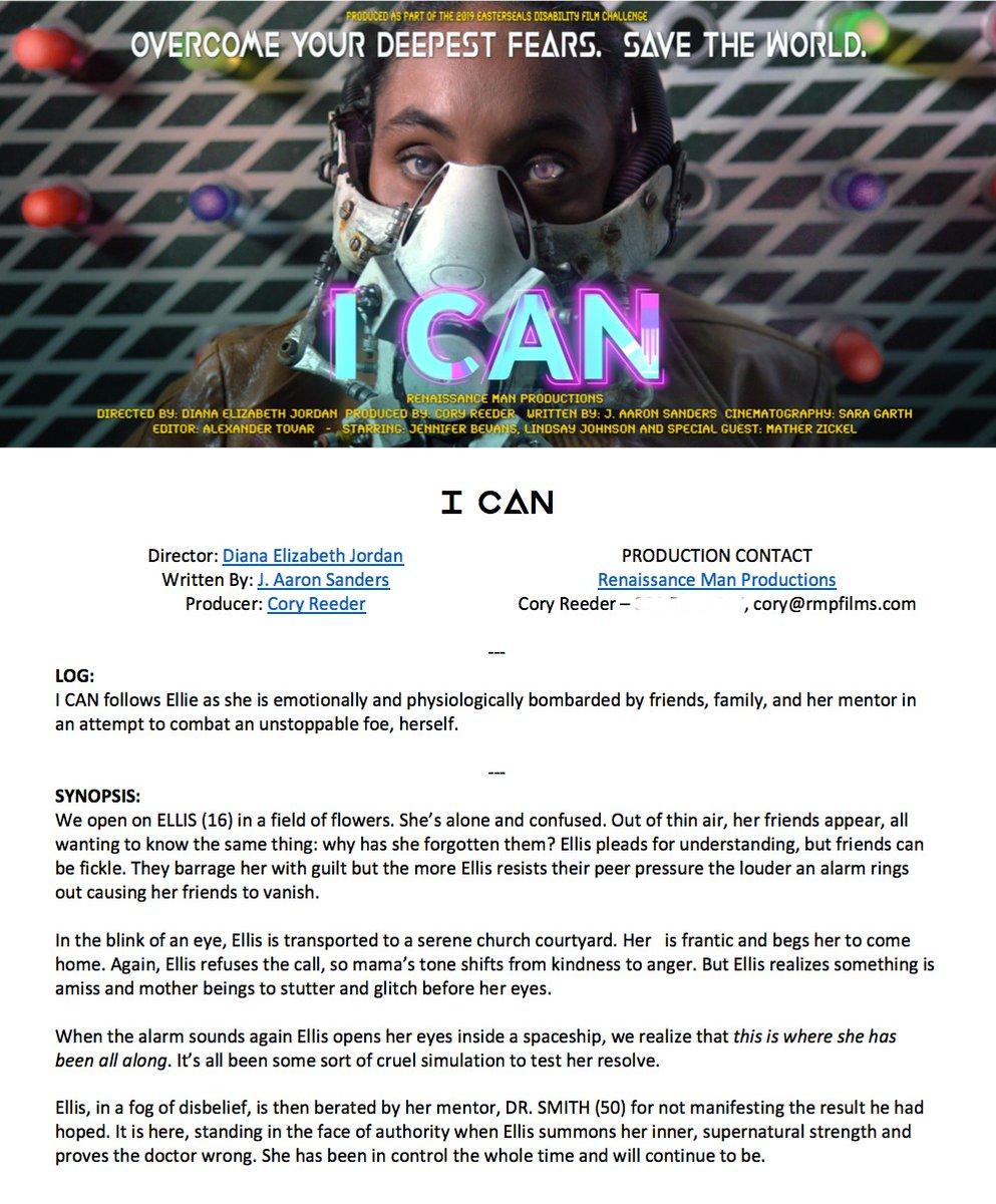 I Can, epk pg 1 - more info @ rmpfilms.com