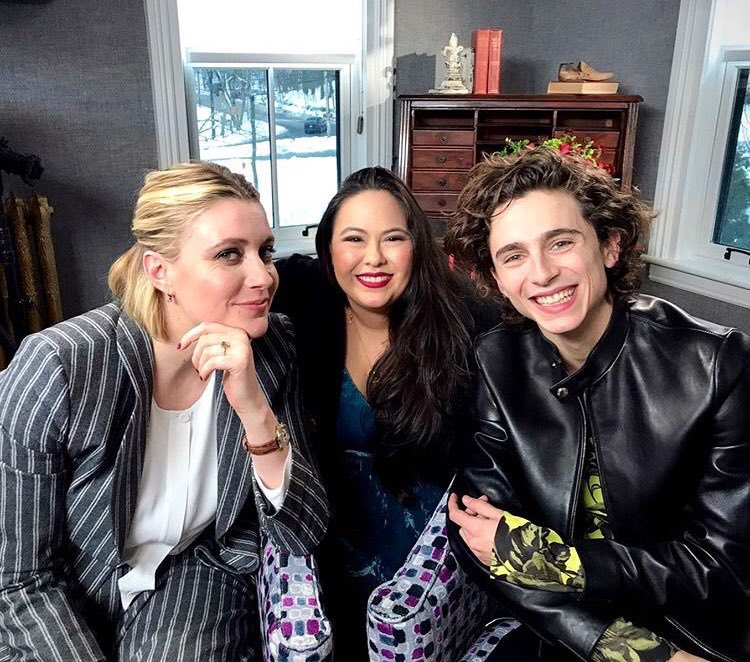 Timothée and Greta doing press for Little Women in Boston today! (via kathypaz) <br>http://pic.twitter.com/BSmrBCsygM