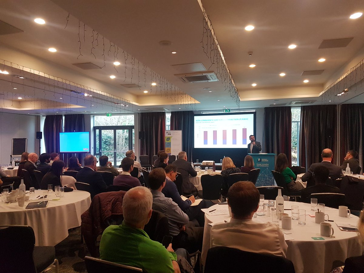 I had a very informative day today @TheBelfryHotel #energysummit  Lot of people with climate change  in mined. pic.twitter.com/Kx9R1X4OZD