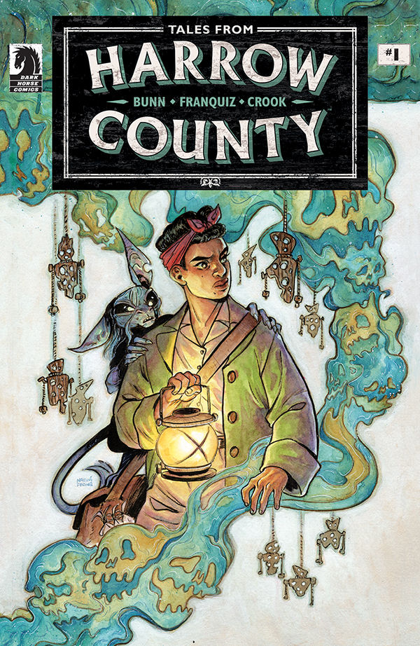 """Harrow County, one of the best horror comics of the past decade, is returning with an all-new mini-series this month from Dark Horse in Tales from Harrow County: Death's Choir."" @cullenbunn, @MrTylerCrook & @naomifranq talk with @HorrorDNA:"