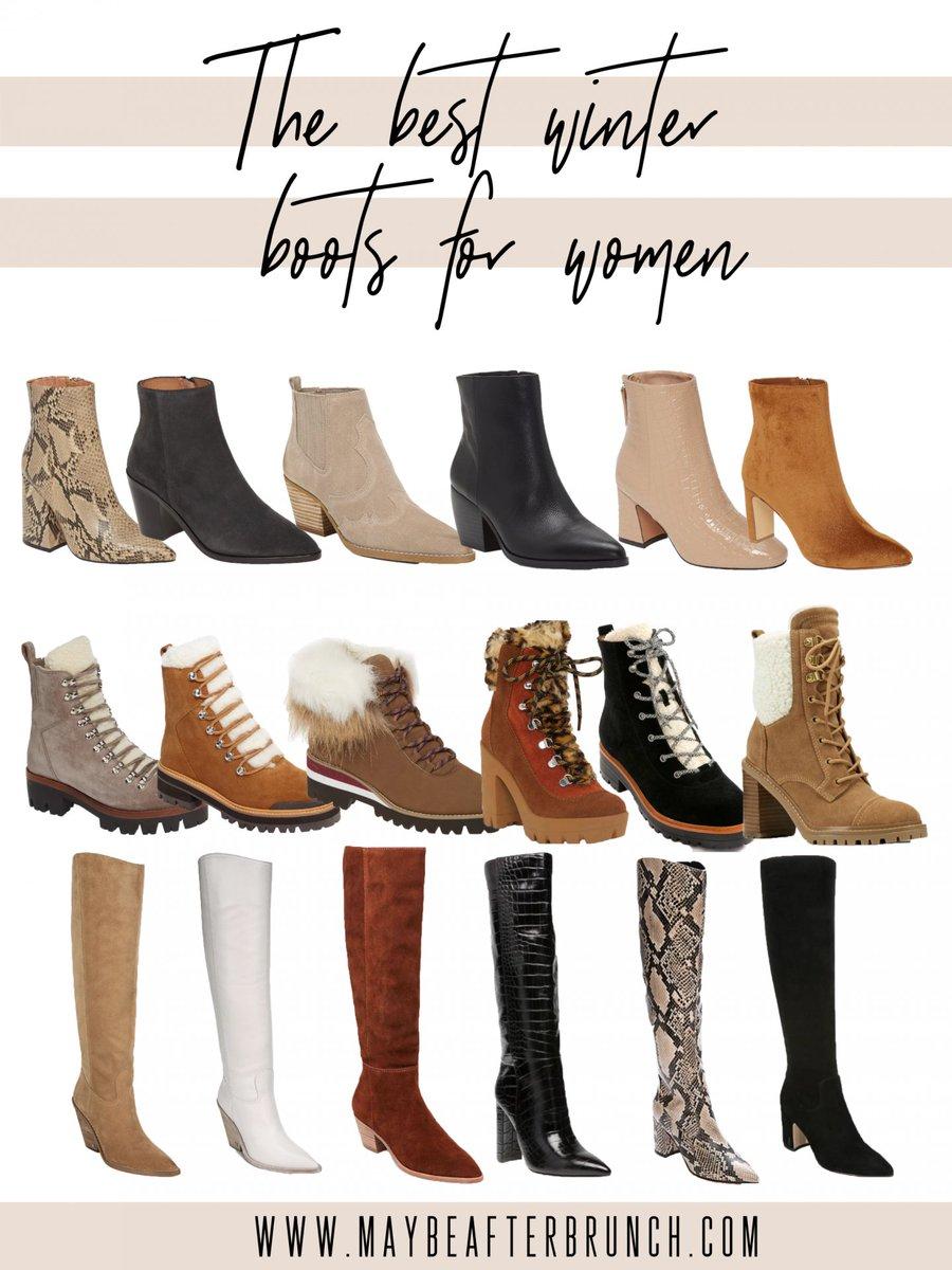 The best boots for your winter wardrobe!  https:// buff.ly/2NBpwLV      #winterfashion #styleblogger #LifestyleBlogger <br>http://pic.twitter.com/0jGCGsXqVf