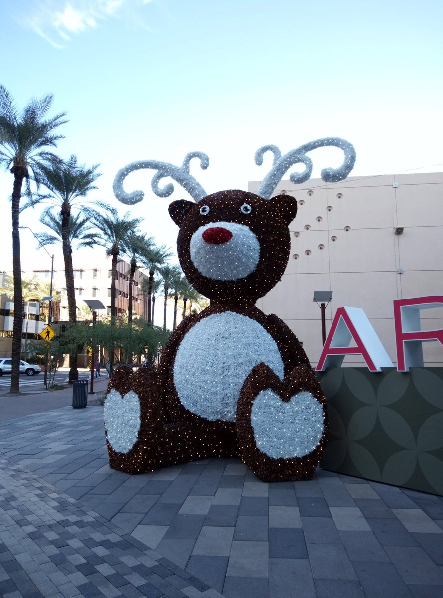 #Rudolph the #rednosed #reindeer #bear?