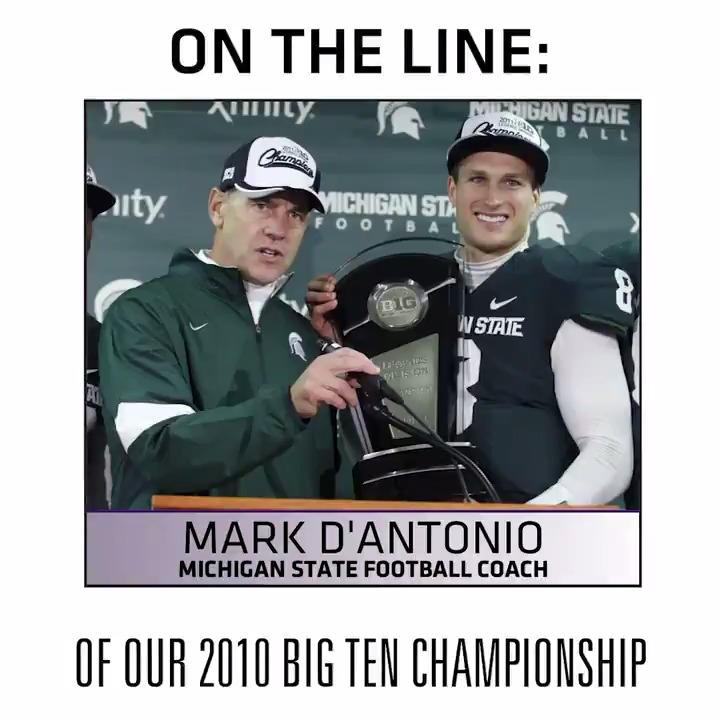 9 years ago, @KirkCousins8 guided @MSU_Football to a @bigten title. @DantonioMark joins Under Center with Kirk Cousins tonight to discuss that season. Tune in tonight at 6:00 p.m. on @KFANPlus or following the Wild game on @KFAN1003.