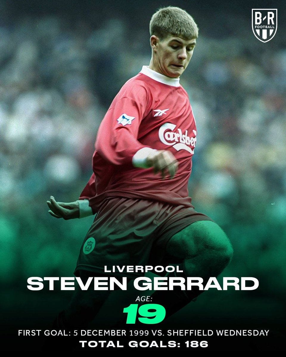 20 years ago today, Steven Gerrard scored his first Liverpool goal. You never forget your first 🙌