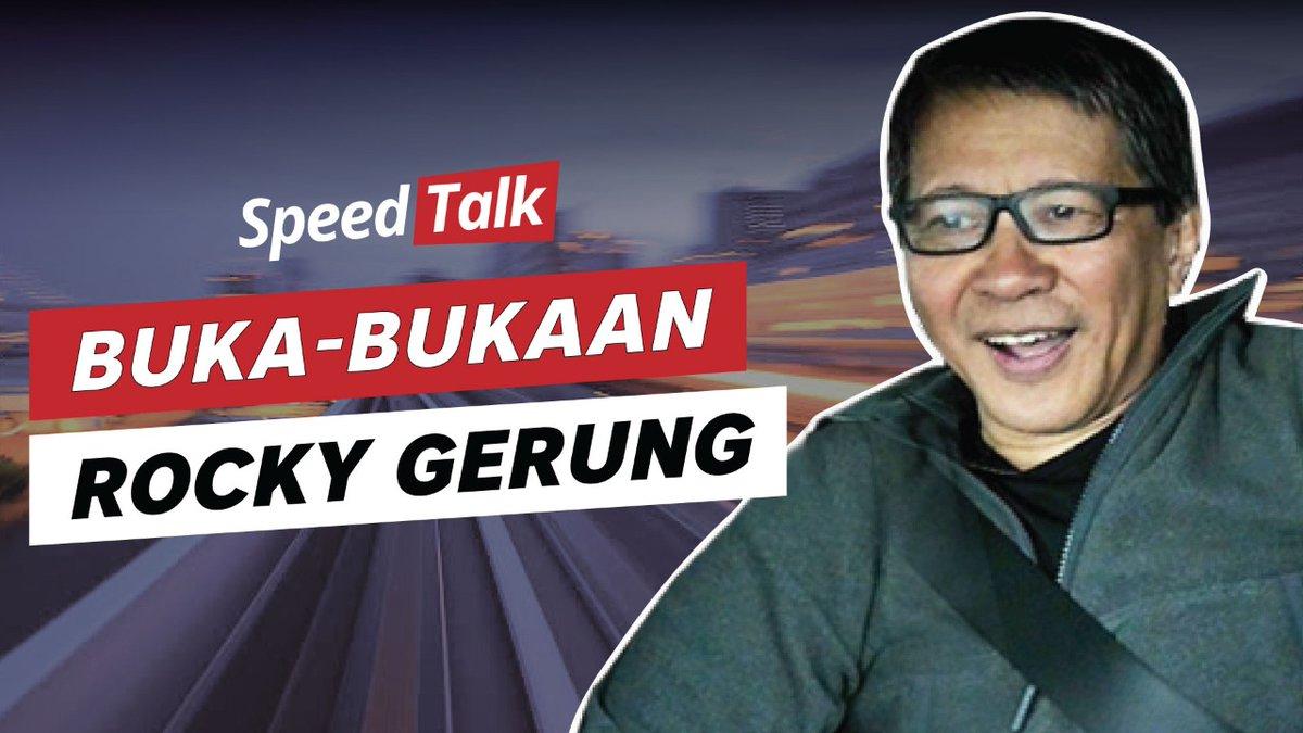 Episode perdana SpeedTalk akhirnya tayang juga. Nah untuk episode kali ini nih, Indy Rahmawati akan 'Unboxing' Rocky Gerung yang baru pulang naik gunung. Penasaran kayak apa? Tonton selengkapnya yuk, klik http://youtu.be/XfiJcL1INLo.#SpeedTalk #TalkshowtvOne