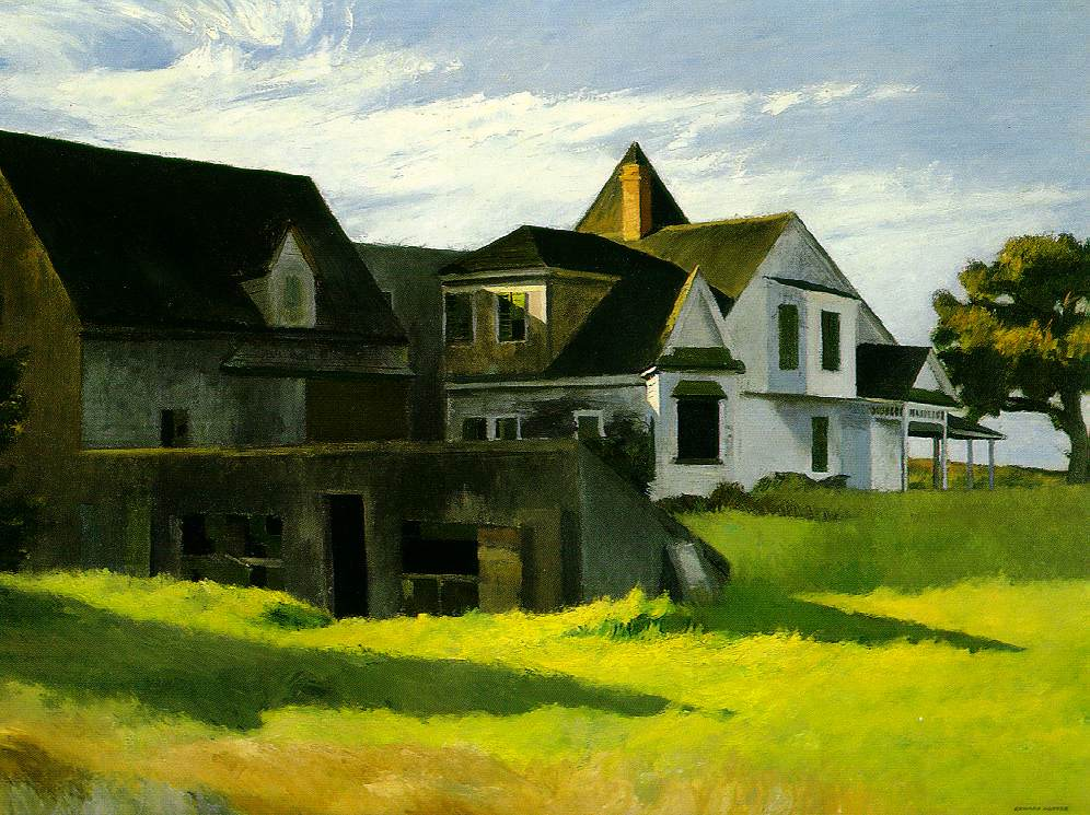 Cape Cod Afternoon, 1936 #newrealism #hopper<br>http://pic.twitter.com/2H82VnqrvH