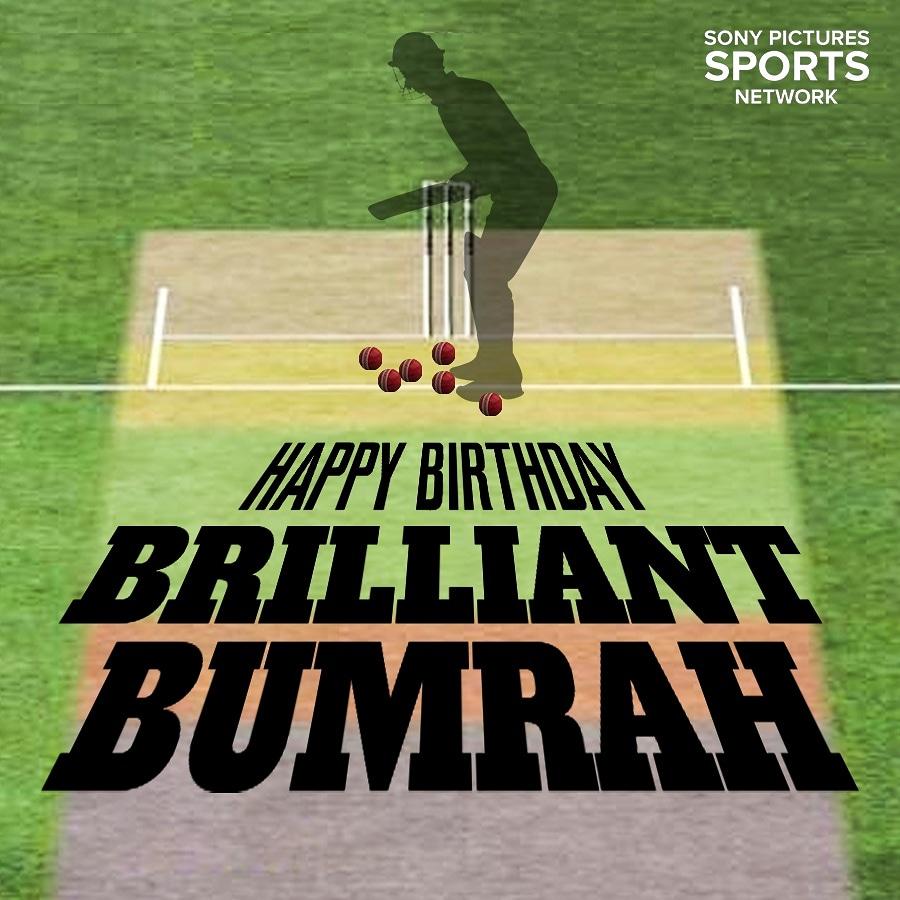Birthday wishes to the Indian Yorker specialist @Jaspritbumrah93   #HappyBirthdayBumrah #SonySports <br>http://pic.twitter.com/6zWJYwdU3E