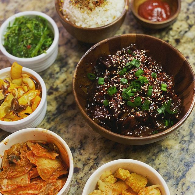 It's a late dinner, but I was craving Bulgogi. Also if you make your own marinade, I recommend an Asian pear rather than the usual 🍐#homecooking #homecook https://ift.tt/2riAmyd