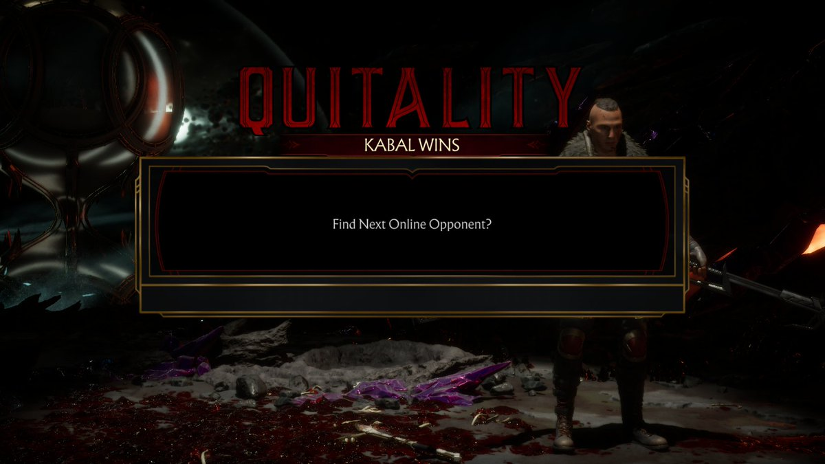 Too bad he was a solid nightwolf too #MortalKombat11 #XboxShare<br>http://pic.twitter.com/XOwA17Fbnt