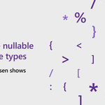 Image for the Tweet beginning: Learn about C# 8.0 Nullable