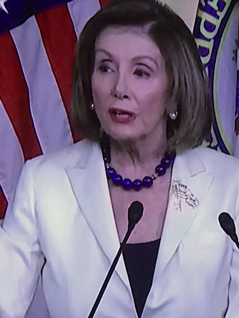 Uh? Does Nancy have 2 sets of eyebrows.<br>http://pic.twitter.com/ovV5sYnO2B