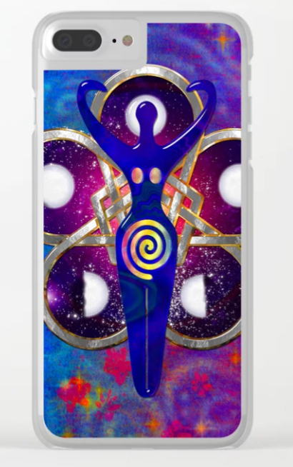 Clear Cases for iPhone By Bohemian Bound @society6 Take Advantage of our Holiday Discounts All Season Long - High Quality Direct Print on Demand Gifts #fractals #folkart #egyptian #cases #iphonex #iphone8 #iphone7 #iphone6s #electronics