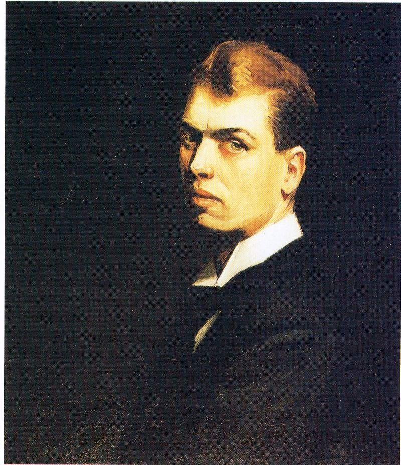Self-Portrait, 1906 #americanart #newrealism <br>http://pic.twitter.com/Qx02HdEGWV