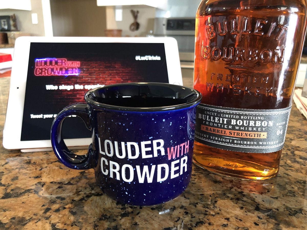 Gonna be hanging with my #mugclub peeps! Get ya some @scrowder too!
