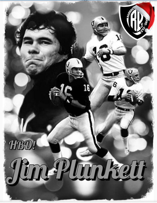 Happy Birthday, Jim Plunkett!