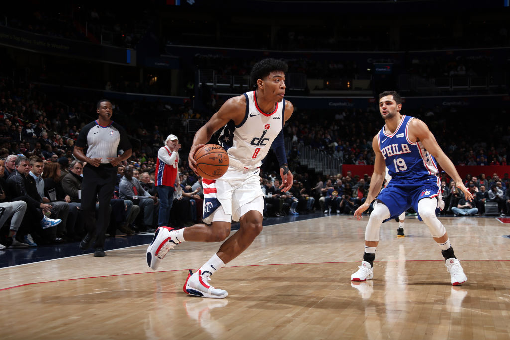 19 PTS | 8-12 FGM  Career-high 19 first half PTS for @rui_8mura in DC! #NBARooks #RepTheDistrict