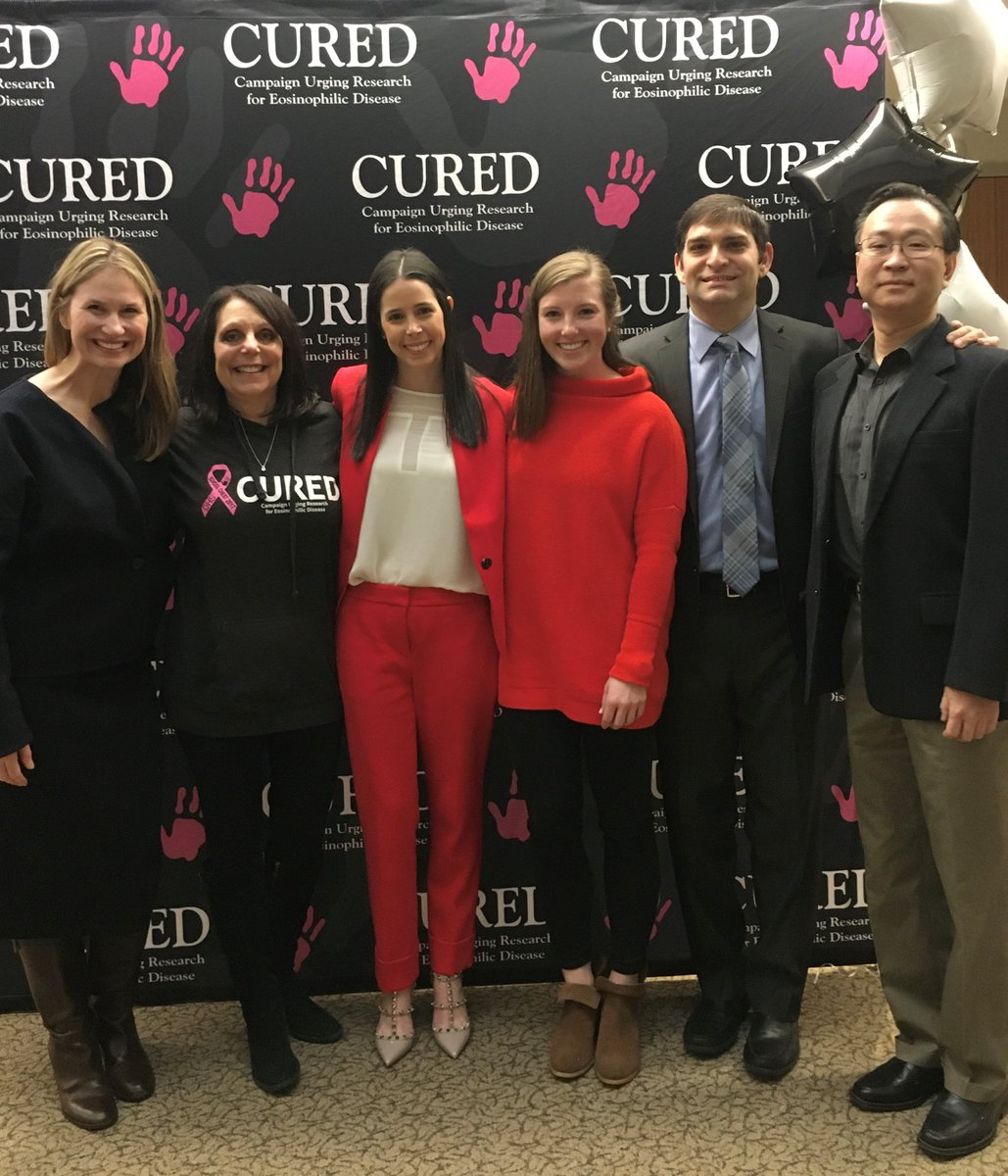 Special thanks to all those who attended @curedfoundations recent fundraising event! CURED raised more than $100,000 all in support of @LurieChildrens Dr. Weschler's EoE research! #EoE #research #all4your1