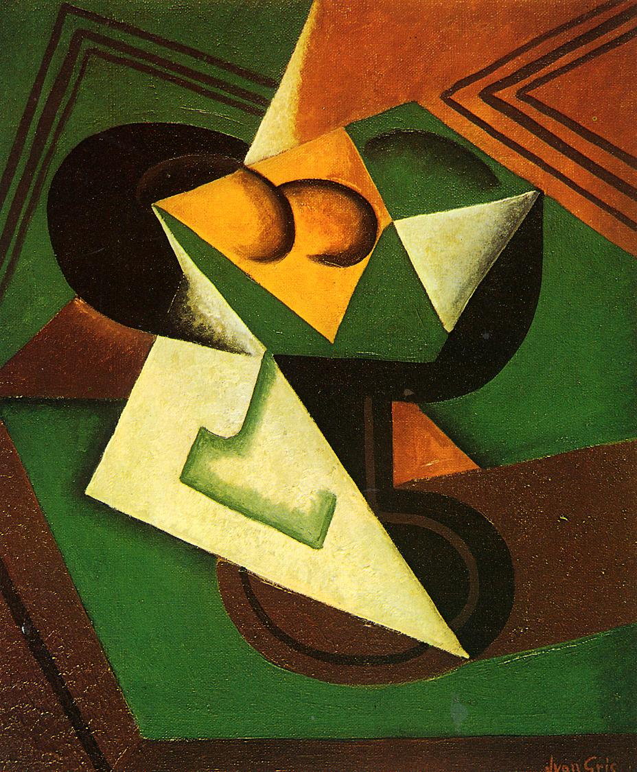 Fruit Bowl and Fruit #cubism #juangris <br>http://pic.twitter.com/mOm8qVLEWa