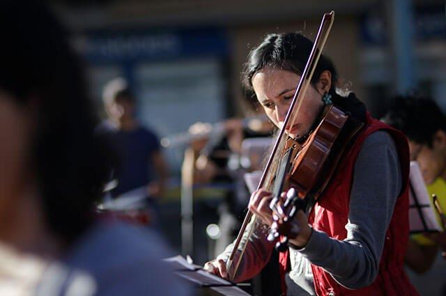 Guardia indígena recibió homenaje de la Filarmónica Popular https://buff.ly/33PlW5L