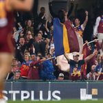 Image for the Tweet beginning: The Brisbane Lions are proud