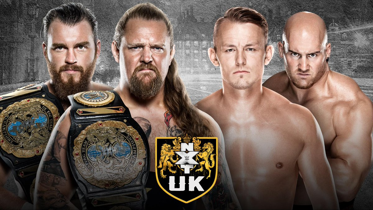 #Gallus and #Imperium SQUARE OFF on today's new episode of @NXTUK, streaming RIGHT NOW only on @WWENetwork! http://wwe.me/xuJYYI  #NXTUK