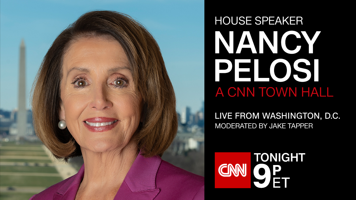 House Speaker Nancy Pelosi takes questions directly from voters after announcing the House will proceed with articles of impeachment against US President Trump. #PelosiTownHallLive updates: https://cnn.it/2YjagqYWatch now: http://CNN.it/go