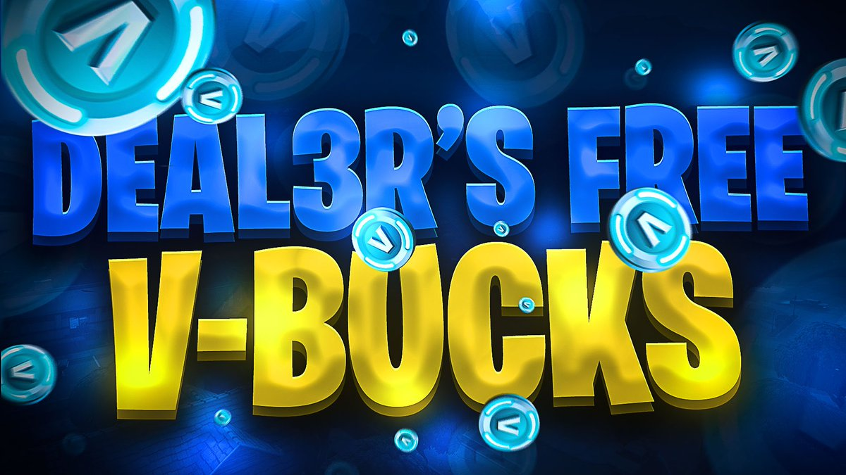 Need Vbucks? We are giving away 5,000 vbucks to one lucky winner! The rules are simple. Just follow the steps below to enter  Follow @itsarkheops & @_DEAL3R  Retweet & Like Tag a friend  Winner announced on Sunday, 12/8/19. GoodLuck and GG <br>http://pic.twitter.com/7cxb0KFdoZ