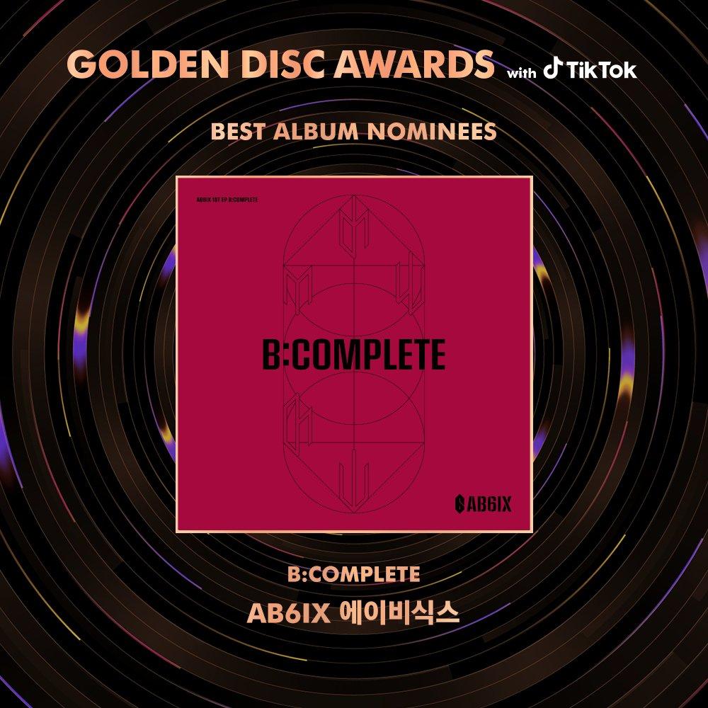 The 34th Golden Disc Awards with TikTok Album Division Nominees ㅤ #AB6IX #에이비식스  #ATEEZ #에이티즈  #GOT7ㅤ ㅤ #골든디스크어워즈 #goldendiscawards #틱톡 #TikTok #골든디스크 #goldendisc #gda<br>http://pic.twitter.com/KxuIgooqc4