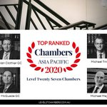 Image for the Tweet beginning: .@Level27Chambers listed as a leading
