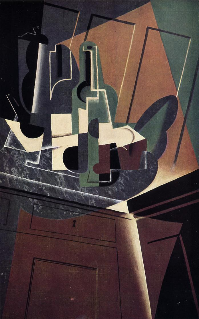 The Sideboard, 1917 #juangris #syntheticcubism<br>http://pic.twitter.com/6p9yC6PQgq