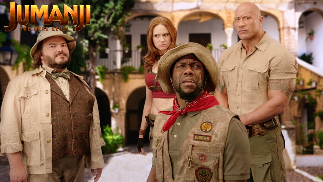 Oooh, sorry to hear about your pants, Kev. Everything changes when #Jumanji  levels up à la telenovela. @univision